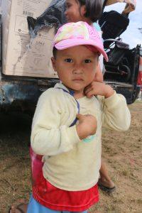 Barn i Thailand